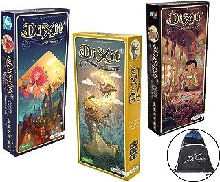 Asmodee Dixit Expansion Bundle of 3: Memories, Daydreams, and Harmonies