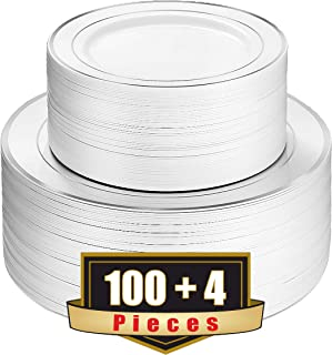 Best disposable plastic plates with compartments Reviews