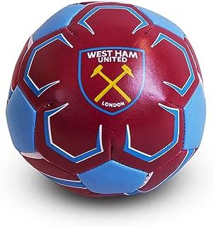 West Ham United F.c. 4 Inch Soft Ball Official Merchandise
