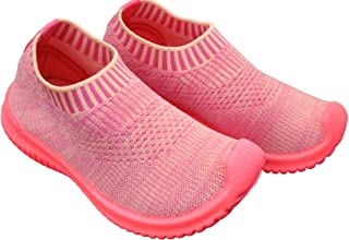 Ace Trends Kids Comfortable Shoes Slip-on/Sneakers/Loafers/Moccasins with Ultra Lightweight Socks, Breathable Fabric Casual Wear Shoe for Boy's & Girl's