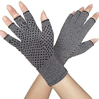 Arthritis Gloves Compression Glove for Arthritis for Women and Men-Ease Rheumatoid, Osteoarthritis Swelling,Osteoarthritis,Muscle Tension and Computer Typing (1 Pair) (M)