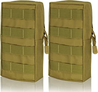 Heycard EDC Pouch 2 Pack Molle Pouch Tactical Pouch Organizer