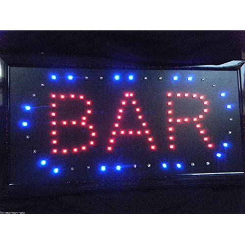 Led Bar Sign Pub Club Window Display Light Lamp Home Restaurant Shop Disco Gift