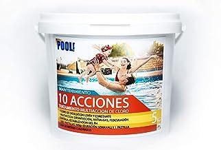 iFONT Cloro 10 acciones   Mantenimiento de Piscina   Tratamiento Multiacción   Formato 5 kg   POOLiberica