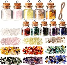 99B6 10pcs Glass Bottle Gift Hotel Festival Wishing Bottle Prop Party Art Craft