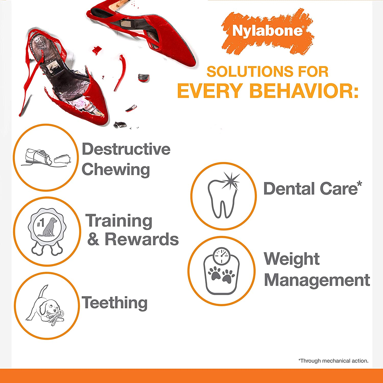 Nylbone JU01645 Extreme Chew Double Bone S