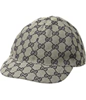 Gucci Kids - Original GG Canvas Cap (Little Kids/Big Kids)