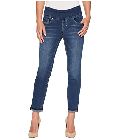 Jag Jeans Amelia Pull-On Slim Ankle Jean (Kodiak Blue/Undone Hem) Women