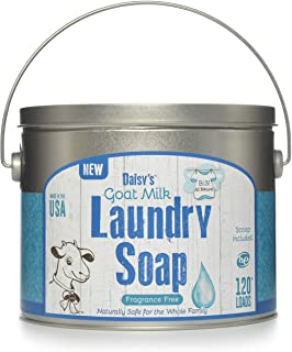 Brooke & Nora At Home, Goat Milk Laundry Soap, Fragrance Free, 120 Loads