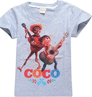 PCLOUD Coco Childrens Cotton Short Sleeve T-Shirt