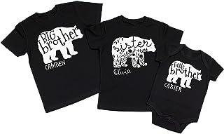 Sister Bear Baby Bear Brother Bear Sibling Shirts Big Sister Bear Big Brother Bear Matching Bear Shirts Family Bear Shirts Sister Brother