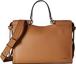 Callie Mercury Leather Satchel