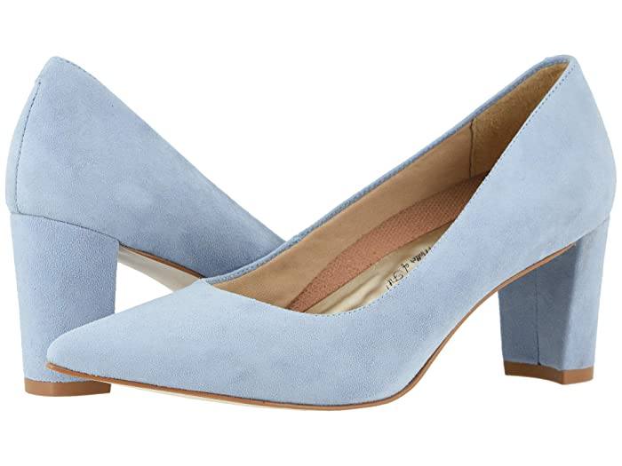 Walking Cradles  Samantha (Blue Mist Suede) Womens  Shoes