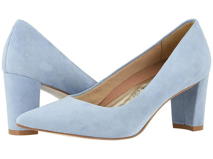 Walking Cradles  Samantha (Blue Mist Suede) Womens  Shoes