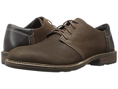 Naot Chief (Oily Brown Nubuck/French Roast Leather/Hazelnut Leather) Men