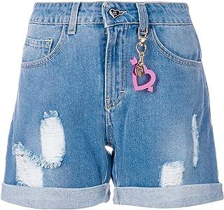 2018 Più popolari Donna New Look Pantaloncini di jeans In