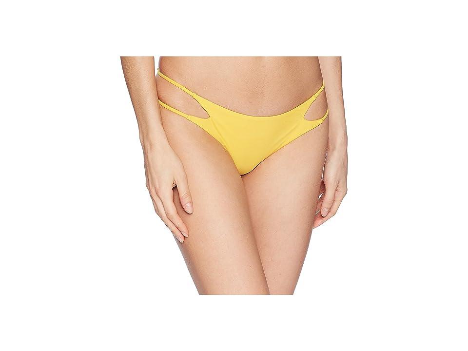 Amuse Society Evelyne Skimpy Bottom (Yellow) Women