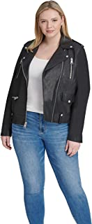 cheap plus size womens leather jackets