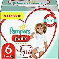 Pampers Maat 6 Premium Protection Luierbroekjes, 116 Stuks, Pampers N°1 Luierbroekjes met Comfortabele Pasvorm en...