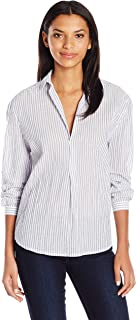 Joe's Jeans Women's Long Dana Striped Woven Shirt