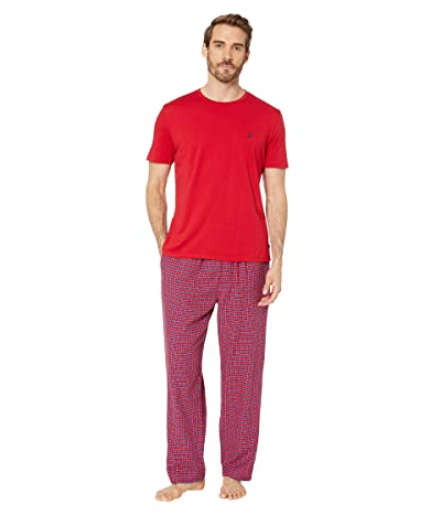 Nautica Pajama Set (Red) Men