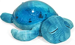 Cloud b Tranquil Turtle Aqua Nightlight and Sound Soother (Renewed)