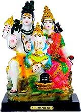VALPRO PRODUCTS Lord Shiva Family Idol with God Ganpati Handicraft Statue Spiritual Puja Vastu Showpiece Fegurine Religiou...