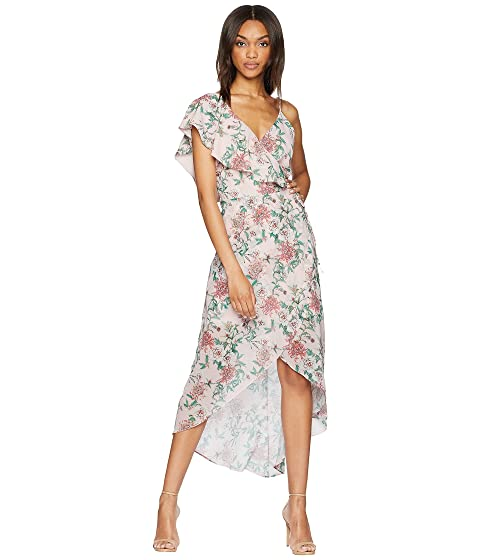 Free Shipping Huge Surprise Choice Online Adelyn Rae Hannah Hi-Low Dress Petal Pink Multi Free Shipping Discounts 89LUN