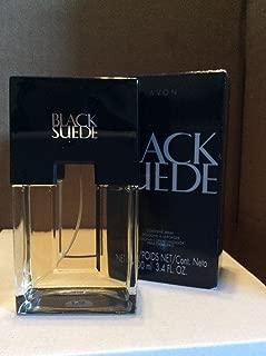 Black Suede For Men by Avon Eau de Toilette Spray 3.4 oz