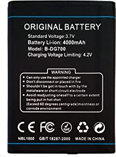 Bateria Compatible con DOOGEE Titans 2 - DG700 | Capacidad 4000mAh | Titan 2