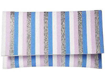 Nina Izara (Light Blue Multi) Clutch Handbags