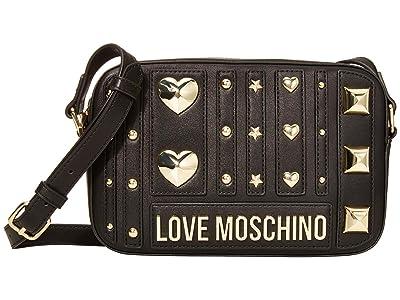 LOVE Moschino Love and More Bag (Black) Handbags