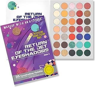Rude Cosmetics Return of the Jet Eyeshadows - Book 4
