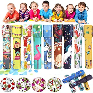Set of 6 Classic Kaleidoscopes Educational Toys for Kids Party Favors Ideas Stock Stuffers Bag Fillers School Classroom Pr...