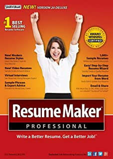 Resume Builder Program