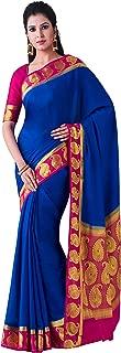 MIMOSA Mysore Silk Crepe Saree Color: Blue