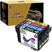 4-Paquetes Cartucho De Tinta Epson 29XL 29 XL Compatible con Epson Expression Home XP-332 XP-335 XP-235 XP-432 XP-435 XP-245 XP-247 XP-342 XP-345 XP-442 XP-445 XP-330 XP-430