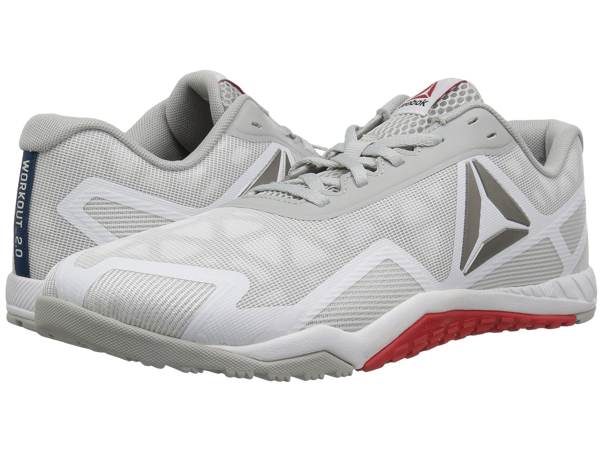 43710facf9e Reebok Ros Workout Tr 2.0 In White Skull Grey Riot Red Noble Blue ...