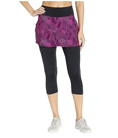 Skirt Sports Hover Capri Skirt (Stellar Print/Black) Women