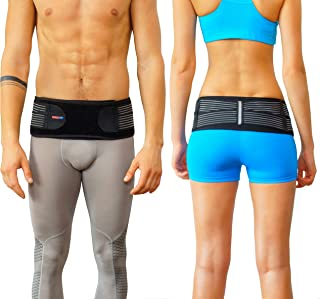 Sacroiliac Joint Brace SI Belt to Relieve Leg/Sciatica Nerve Pain, Lower Back Pain and Lower Spine and Hips Pain   Breathable, Comfortable, Anti-Slip Back Braces