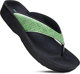 Best Original Orthotic Comfort Thong Style Flip Flops Sandals for Women with Arch Support for Comfortable Walk Reviews