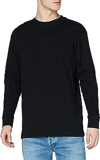 Urban Classics Herren Langarmshirts Sweatshirt Longsleeve Oversized Shaped