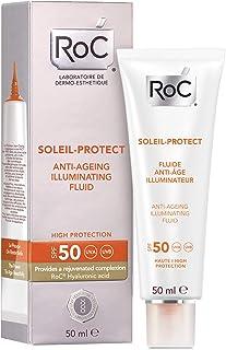 ROC Soleil Protect - Fluido Iluminador Anti-Edad SPF50 50 ml