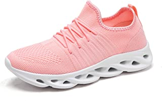 Baivilin Women's Casual Sneakers Ultra Lightweight Breathable Mesh Athletic Walking Running Shoes