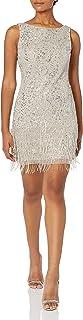 فستان قصير مطرز للنساء من Adrianna Papell