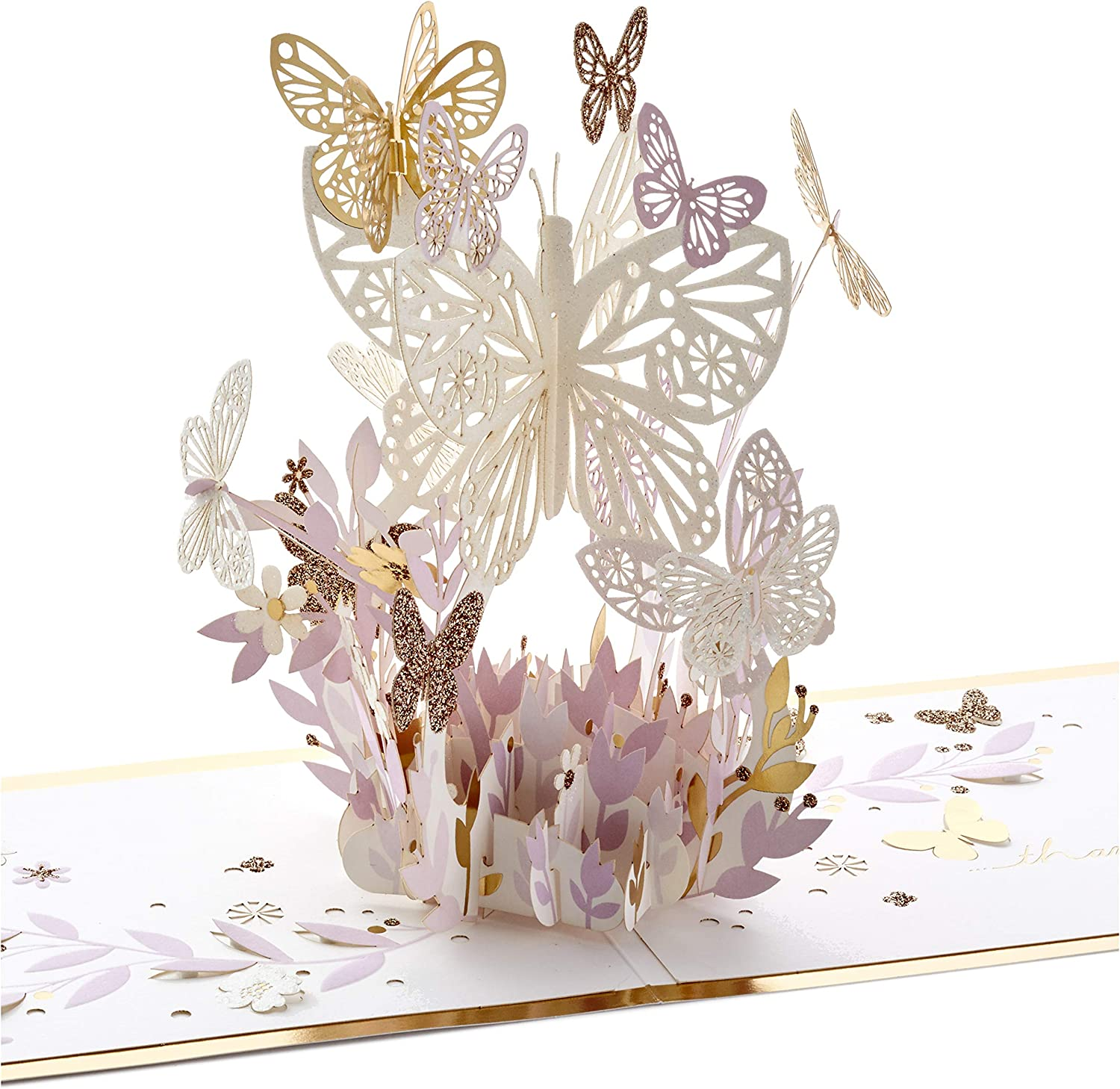 Hallmark Ranking TOP6 Signature Paper Long-awaited Wonder Pop Up T You Thankful for Card