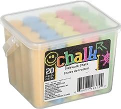Chalk Sidewalk Chalk 20 Count- 5 colors