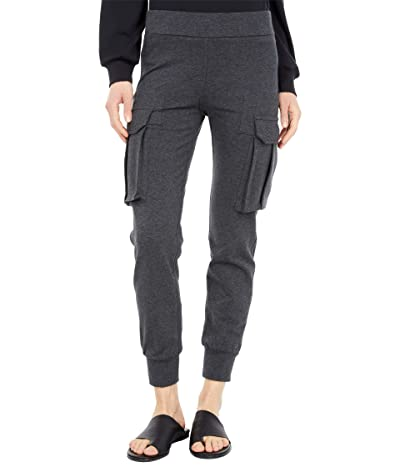 KAMALIKULTURE by Norma Kamali Cargo Jog Pants (Dark Heather Grey) Women