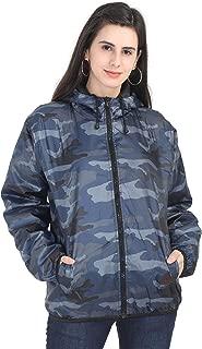 VERSATYL Women's Camouflage Winter Jacket with Hood
