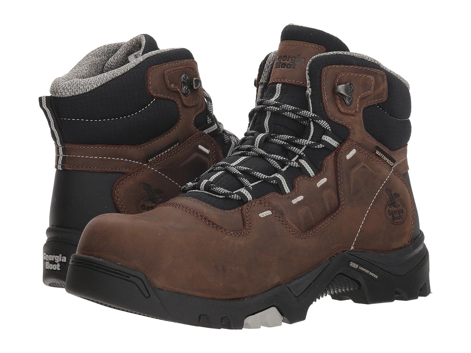 "Georgia Boot 5"" Amplitude 5"" Boot Comp Toe Waterproof 03b1ec"